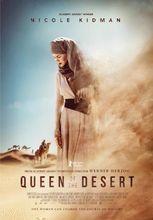 Plakat filmu Królowa pustyni