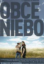Plakat filmu Obce niebo
