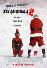 Plakat filmu Zły Mikołaj 2