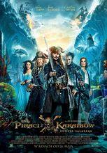 Plakat filmu Piraci z Karaibów. Zemsta Salazara