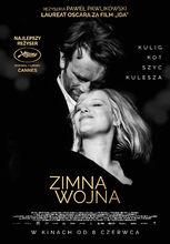 Plakat filmu Zimna wojna