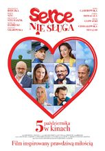 Plakat filmu Serce nie sługa