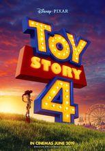 Plakat filmu Toy story 4