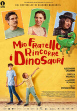 Movie poster Mój brat ściga dinozaury